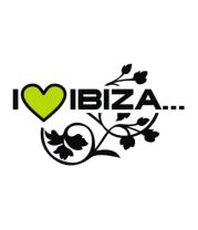 Детская футболка  I Love Ibiza
