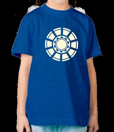 Детская футболка  Реактор железного человека