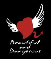 Женская майка борцовка Beautiful and Dangerous