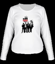 Женская футболка с длинным рукавом The Big Bang Theory