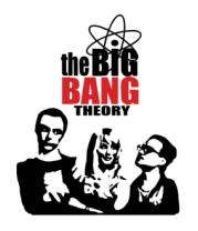 Женская майка борцовка The Big Bang Theory