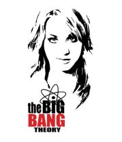 Мужская футболка  The Big Bang Theory. Пенни