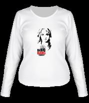 Женская футболка с длинным рукавом The Big Bang Theory. Пенни