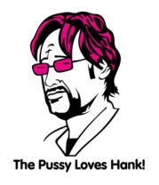 Женская футболка  Californication. The Pussy Loves Hank
