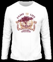 Мужская футболка с длинным рукавом Safari
