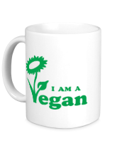 Кружка I am a vegan