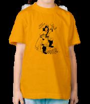 Детская футболка  Кому ваучер