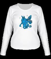 Женская футболка с длинным рукавом Пак (Puck) Дота