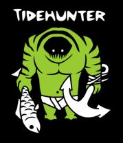 Мужская футболка с длинным рукавом Таидхантер (дота)