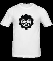 Мужская футболка  Череп