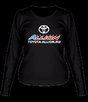 Женская футболка с длинным рукавом Автоклуб Toyota Allion