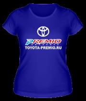 Женская футболка  Автоклуб Toyota Premio