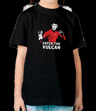 Детская футболка  Enter the Vulkan