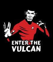 Женская майка борцовка Enter the Vulkan