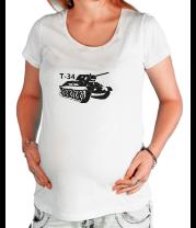 Футболка для беременных Т-34
