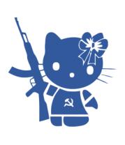 Коврик для мыши Kitty Soldier