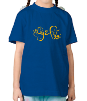 Детская футболка  Aly & fila