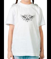 Детская футболка  Rock music