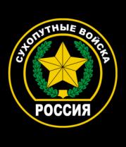 Женская футболка с длинным рукавом Сухопутные войска