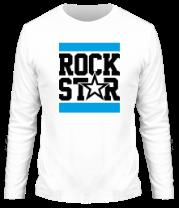 Мужская футболка с длинным рукавом Line Rock Star