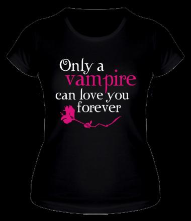 Женская футболка  Любовь вампира