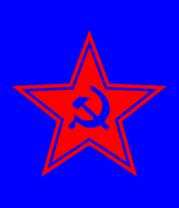 Женская футболка  Звезда СССР
