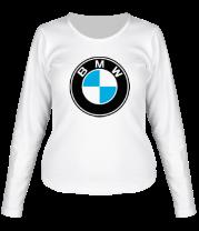 Женская футболка с длинным рукавом BMW