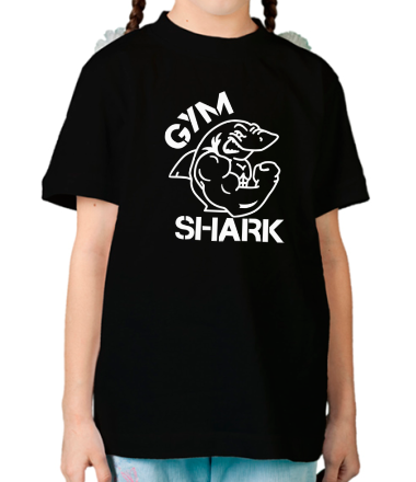Детская футболка  Gym Shark