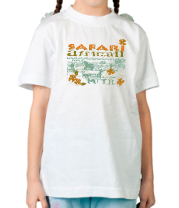 Детская футболка  Safari