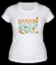 Женская футболка  Safari