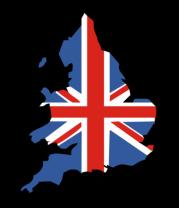 Бейсболка Карта Англии