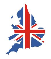 Кружка Карта Англии