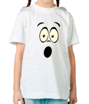 Детская футболка  Удивление glow