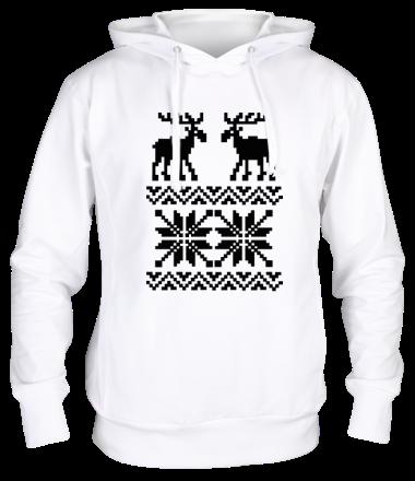 Толстовка Свитер с оленями