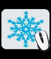 Коврик для мыши Остроугольная снежинка