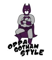 Коврик для мыши Gotham style