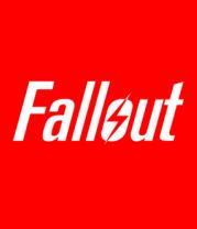 Футболка поло мужская Fallout