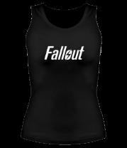 Женская майка борцовка Fallout