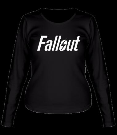 Женская футболка с длинным рукавом Fallout