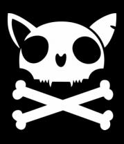 Детская футболка  Кот - пиратский флаг