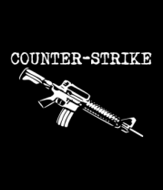 Футболка поло мужская Counter Strike