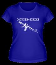 Женская футболка  Counter Strike