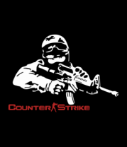 Женская майка борцовка Counter-Strike