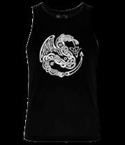 Мужская майка Кельтский дракон