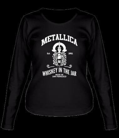 Женская футболка с длинным рукавом Metallica Whiskey in the Jar