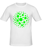 Мужская футболка  Диско шар