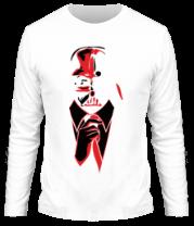 Мужская футболка с длинным рукавом Стильный Дарт Вейдер