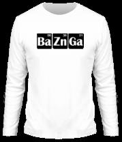 Мужская футболка с длинным рукавом Bazinga