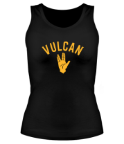 Женская майка борцовка Vulcan