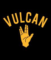 Женская футболка  Vulcan